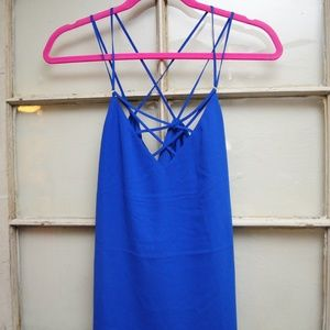 Blue Express Strappy Tank